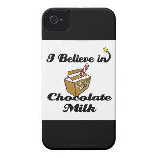 i believe in chocolate milk Case-Mate iPhone 4 case
