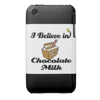 i believe in chocolate milk iPhone 3 cover