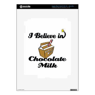 i believe in chocolate milk iPad 3 skin