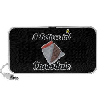 i believe in chocolate notebook speaker
