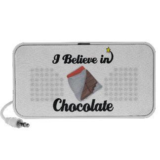 i believe in chocolate speaker