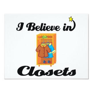 i believe in closets announcement