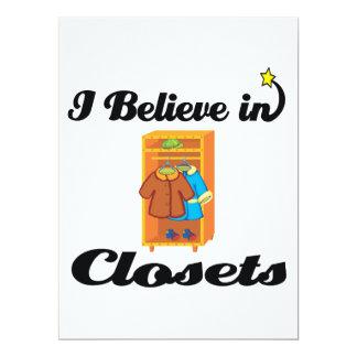 i believe in closets custom announcements