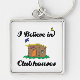 i believe in clubhouses key chains