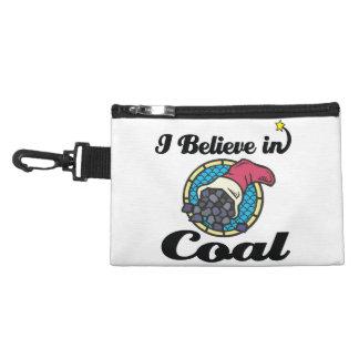 i believe in coal accessory bags