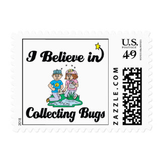 i believe in collecting bugs postage stamps