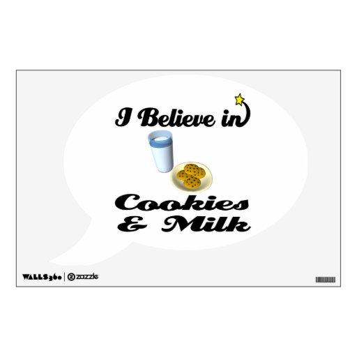 i believe in cookies and milk room graphics
