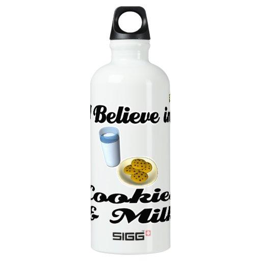 i believe in cookies and milk SIGG traveler 0.6L water bottle