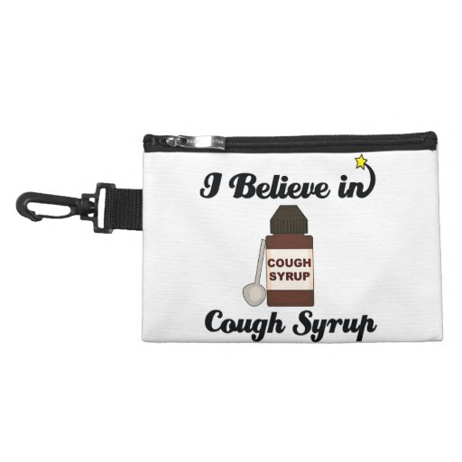i believe in cough syrup accessory bags