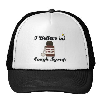 i believe in cough syrup trucker hat