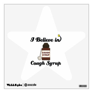 i believe in cough syrup wall stickers