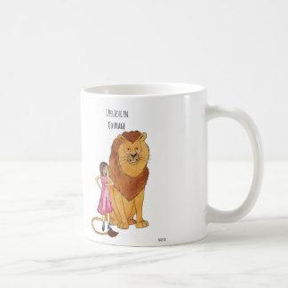i believe in courage coffee mug