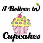 i believe in cupcakes photo cutouts