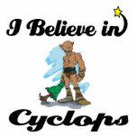 i believe in cyclops photo sculptures