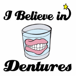 i believe in dentures photo cut outs