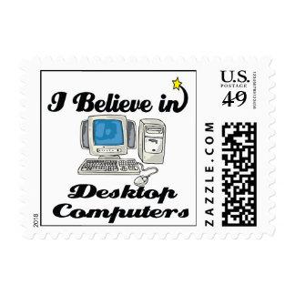 i believe in desktop computers stamps