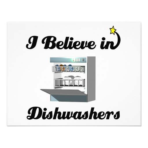 i believe in dishwashers announcement