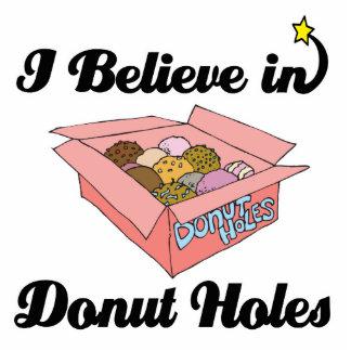 i believe in donut holes standing photo sculpture