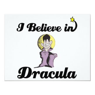 i believe in dracula personalized announcements