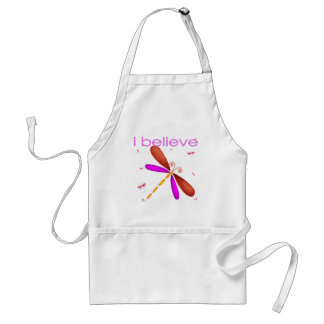 I believe in Dragonflies Adult Apron