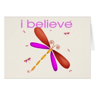 I believe in Dragonflies Cards