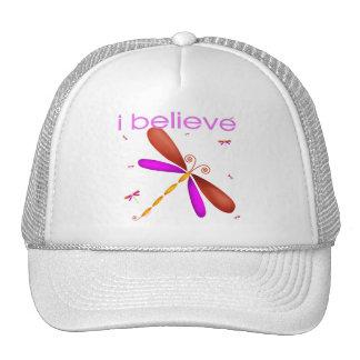 I believe in Dragonflies Hats