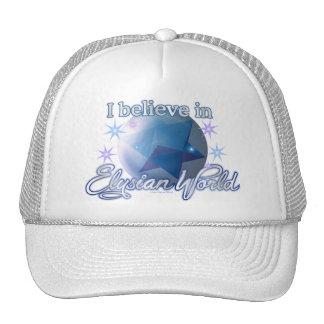 I Believe in ElysianWorld Trucker Hat