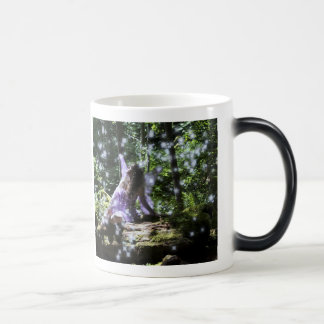 I believe in faeries morphing mug