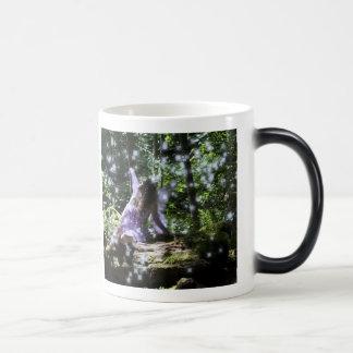 I believe in faeries morphing mug