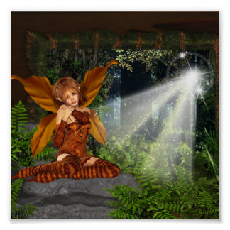 I believe in Faeries Poster