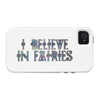 I Believe In Fairies Celtic Knot Design Case-Mate iPhone 4 Covers