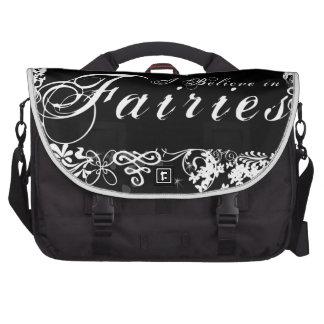I Believe in Fairies Dark Commuter Bag