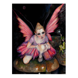 I believe in fairies post card