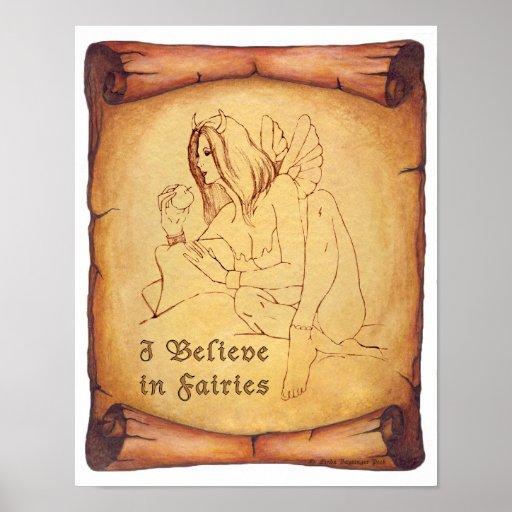 I Believe in Fairies Poster