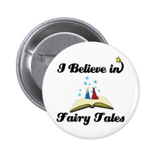 i believe in fairy tales button