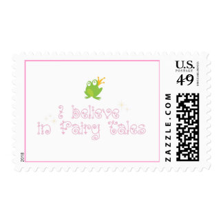 I Believe in Fairy Tales Stamps