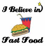 i believe in fast food photo cutouts