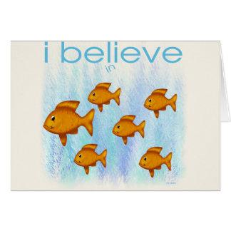 I believe in Fish Card