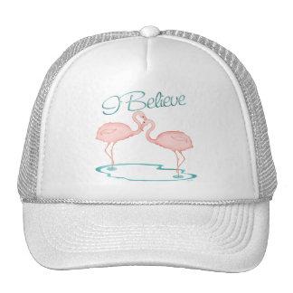 I believe in Flamingos Mesh Hats