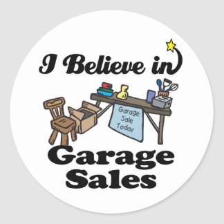 Garage Sales Stickers 400 Custom Designs Zazzle