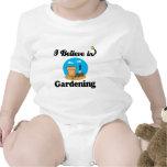 i believe in gardening tees