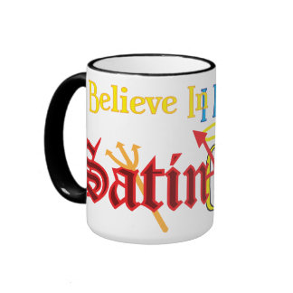 I believe in Gauze AND Satin Ringer Coffee Mug