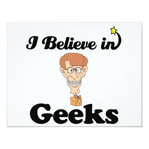 i believe in geeks announcement