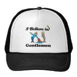 i believe in gentlemen trucker hat
