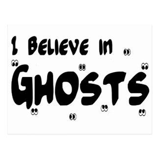 I Believe In Ghosts Postcard