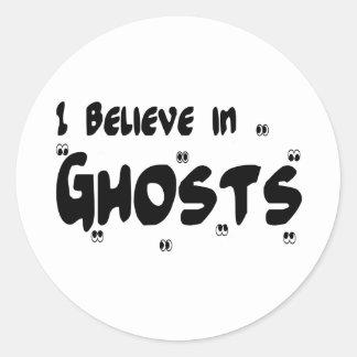 I Believe In Ghosts Sticker