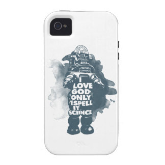 I Believe in God Only I Spell It Science iPhone 4 Cover