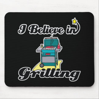 i believe in grilling mousepads