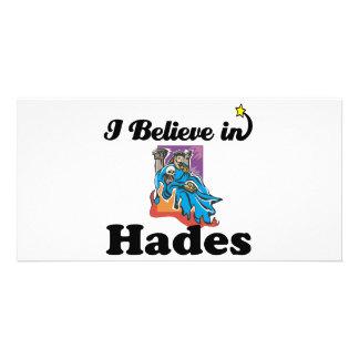 i believe in hades custom photo card
