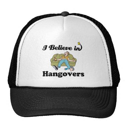 i believe in hangovers hats